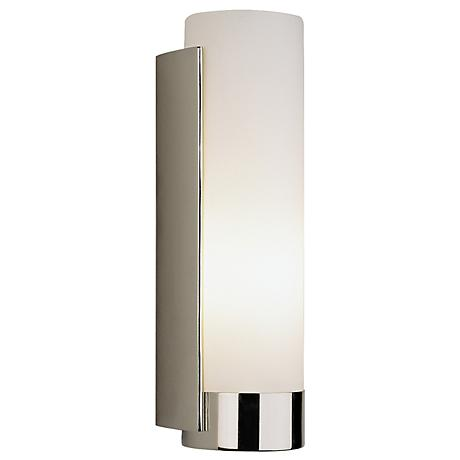 Robert Abbey Tyrone Polished Nickel Finish Bath Wall Sconce