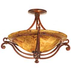 "Somerset Collection 21 1/2"" Wide Ceiling Light Fixture"