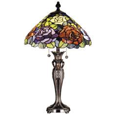 Dale Tiffany Battersby Art Glass Table Lamp