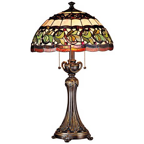 Dale Tiffany Aldridge Art Glass Table Lamp