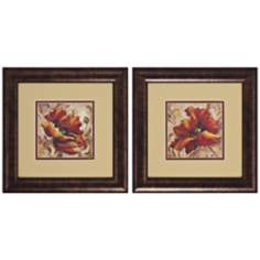 Set of 2 Poppy Prints Wall Art