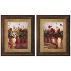 Set of 2 All in a Row I and II Prints Wall Art
