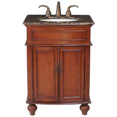 Prince Baltic Brown Granite Single Sink Vanity
