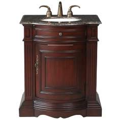 Catherine Baltic Brown Granite Single Sink Vanity
