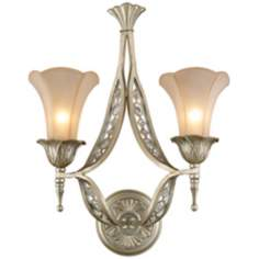 "Chelsea Collection 22"" High 2-Light Wall Sconce"