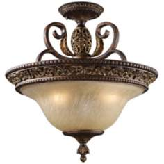 "Regency Collection 19"" Wide Ceiling Light Fixture"