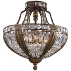 "Grand Salon Collection 18"" Wide Ceiling Light Fixture"