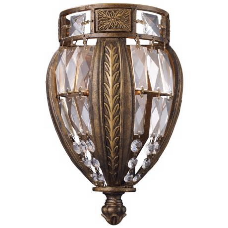 "Grand Salon Collection 11"" High Pocket Wall Sconce"