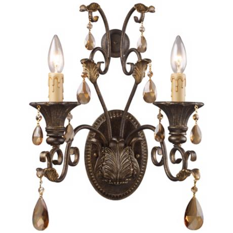 "Rochelle Collection 18"" High 2-Light Wall Sconce"