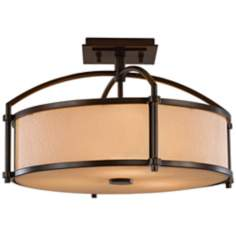"Murray Feiss Preston Collection 16"" Wide Ceiling Light"