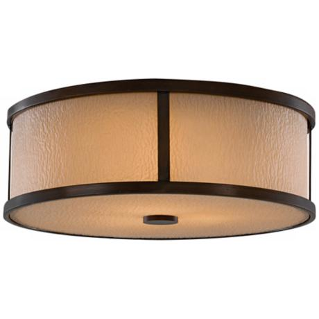 "Murray Feiss Preston Collection 14"" Wide Ceiling Light"
