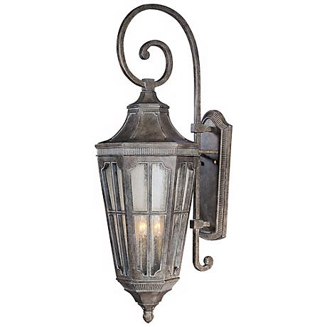 "Beacon Hill Collection 37"" High Outdoor Wall Light"