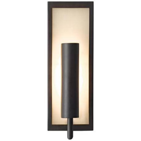 "Murray Feiss Mila Collection Bronze 14 3/4"" High Wall Sconce"