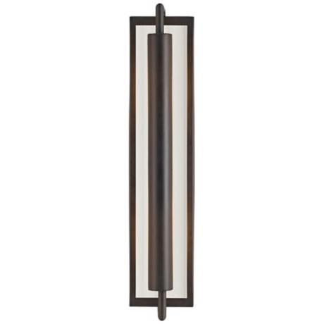 "Murray Feiss Mila Collection Bronze 24 3/4"" High Wall Sconce"