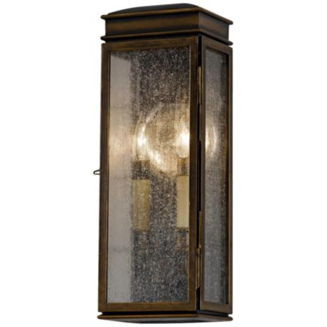 "Murray Feiss Whitaker 17 1/4"" High Outdoor Wall Light"
