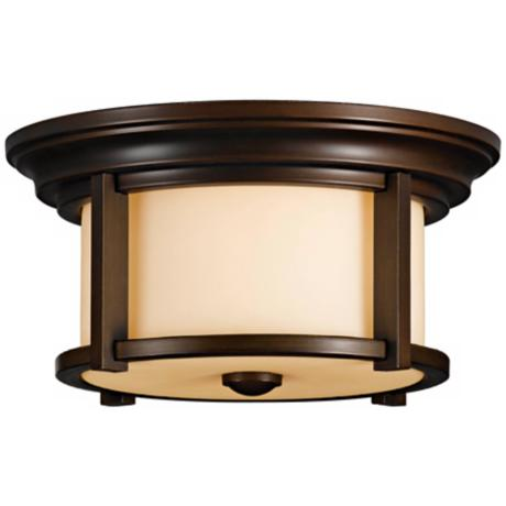 "Murray Feiss Merrill 13"" Wide Indoor - Outdoor Ceiling Light"