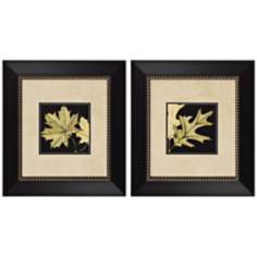 Set of 2 Leaves II and III Prints Wall Art