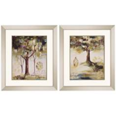 "Set of 2 Hopes III & IV Framed 29"" High Wall Art"