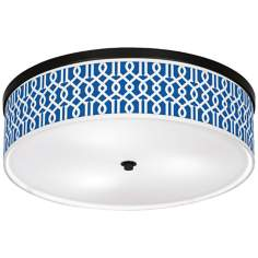 "Chain Reaction Giclee 20 1/4"" Wide Ceiling Light"