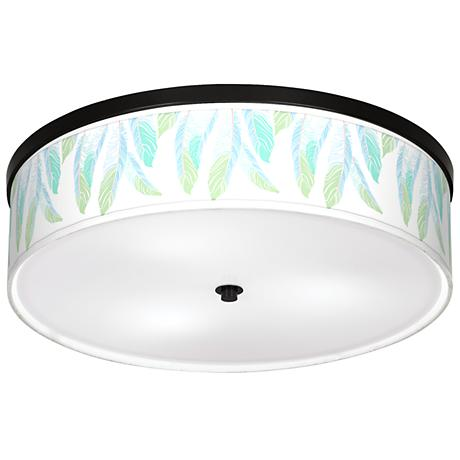 "Light as a Feather Giclee 20 1/4"" Wide Ceiling Light"