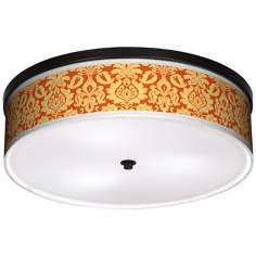 "Harvest Florence 20 1/4"" Wide CFL Bronze Ceiling Light"