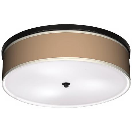 "Mesa Tan 20 1/4"" Wide CFL Bronze Ceiling Light"