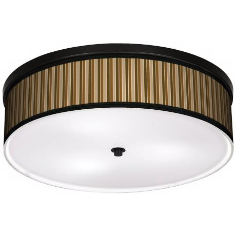 "Sorrel Vertical 20 1/4"" Wide CFL Bronze Ceiling Light"