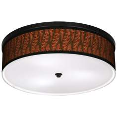 "Stacy Garcia Fancy Fern Coral 20 1/4"" Wide Ceiling Light"