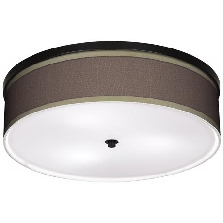 "Stacy Garcia Seafan Taupe 20 1/4"" Wide Ceiling Light"