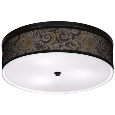 "Stacy Garcia Ornament Metal 20 1/4"" Wide CFL Ceiling Light"
