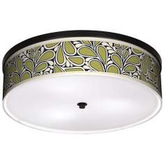 "Stacy Garcia Rain Metal 20 1/4"" Wide Bronze Ceiling Light"