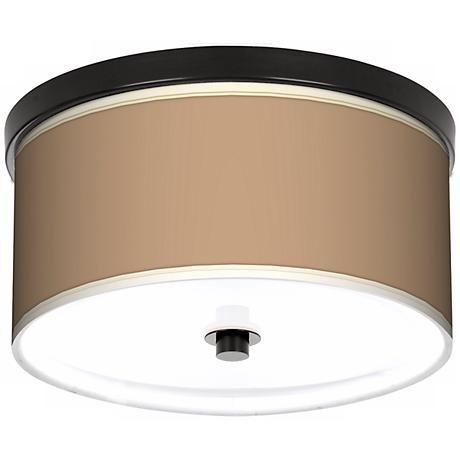 "Mesa Tan 10 1/4"" Wide CFL Bronze Ceiling Light"