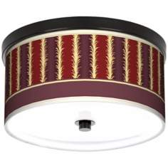 "Lexington Cinnamon 10 1/4"" Wide CFL Bronze Ceiling Light"