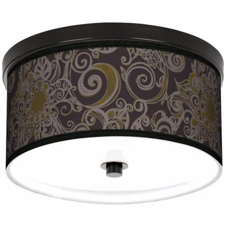 "Stacy Garcia Ornament Metal 10 1/4"" Wide Ceiling Light"