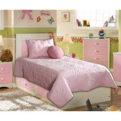 Annabelle Three Piece Bedding Set (Twin)