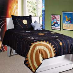 Solar Three Piece Bedding Set