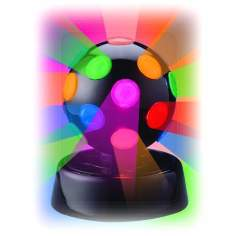 "Rotating Multicolor 4"" Disco Ball"