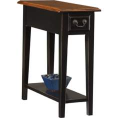 Favorite Finds Medium Slate Finish Side Table