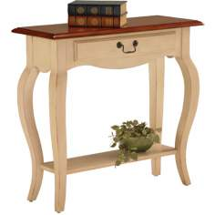 Favorite Finds Ivory Finish Console Table