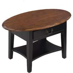 Favorite Finds Slate Finish Oval Coffee Table