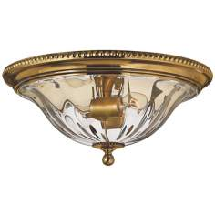 "Hinkley Cambridge Brass 16 1/4"" Wide Ceiling Light"