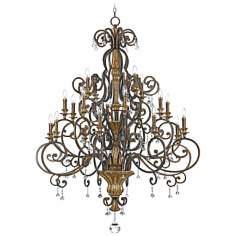 Marquette Collection 20-Light Chandelier