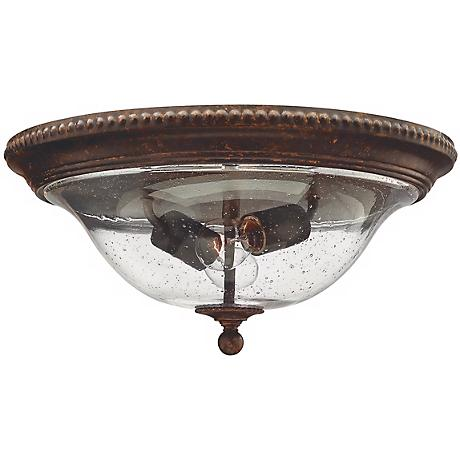 "Rockford Collection Bronze 16 1/4"" Wide Ceiling Light"