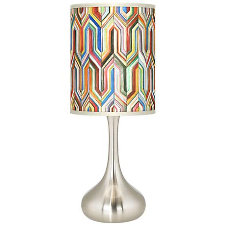 Synthesis Giclee Kiss Table Lamp