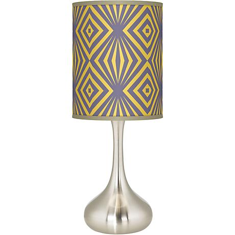 Deco Revival Giclee Kiss Table Lamp