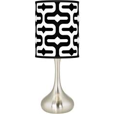 Reflection Giclee Kiss Table Lamp