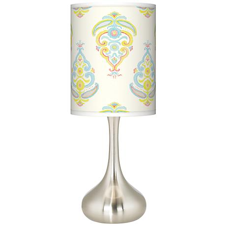 Pastel Parade Giclee Kiss Table Lamp
