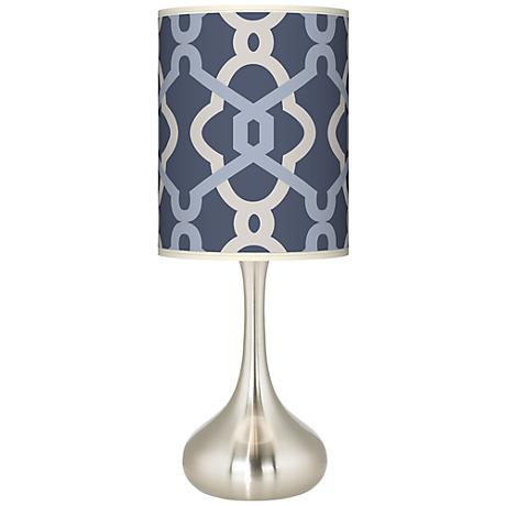 Hyper Links Vista Giclee Kiss Table Lamp