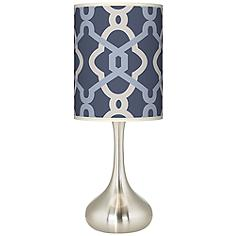 Hyper Links Vista Giclee Droplet Table Lamp