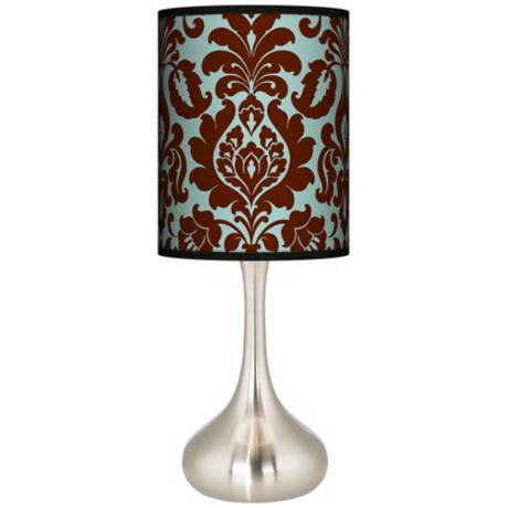 Stacy Garcia Kiwi Tini Florence Giclee Kiss Table Lamp